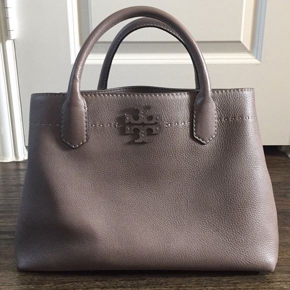 9346b3252edc Tory Burch McGraw Triple Compartment Satchel. M 5b9eae993e0caa1461f327af
